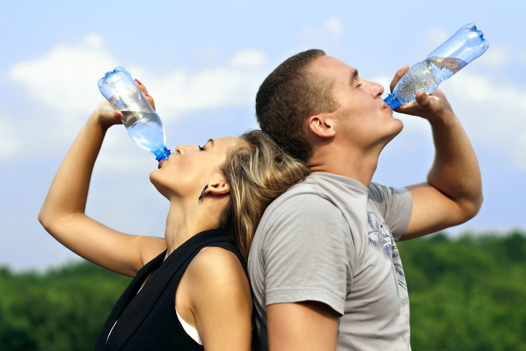drink water_prevent heat stroke