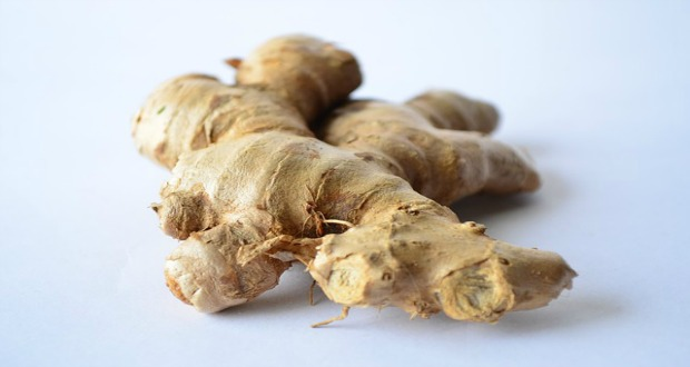 Ginger tea is great to soothe inflamed throat.