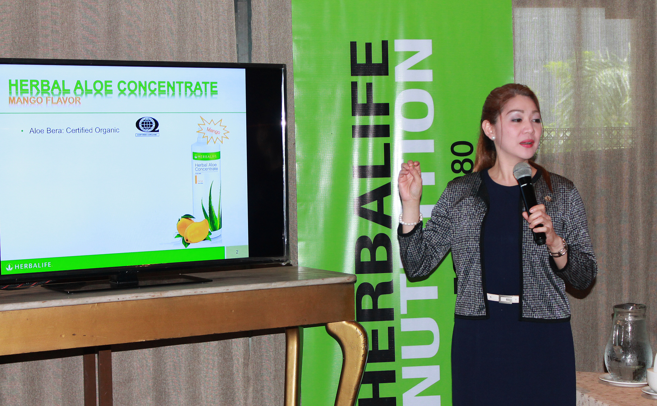 Marie-Seguismundo, Herbalife-Marketing-Manager