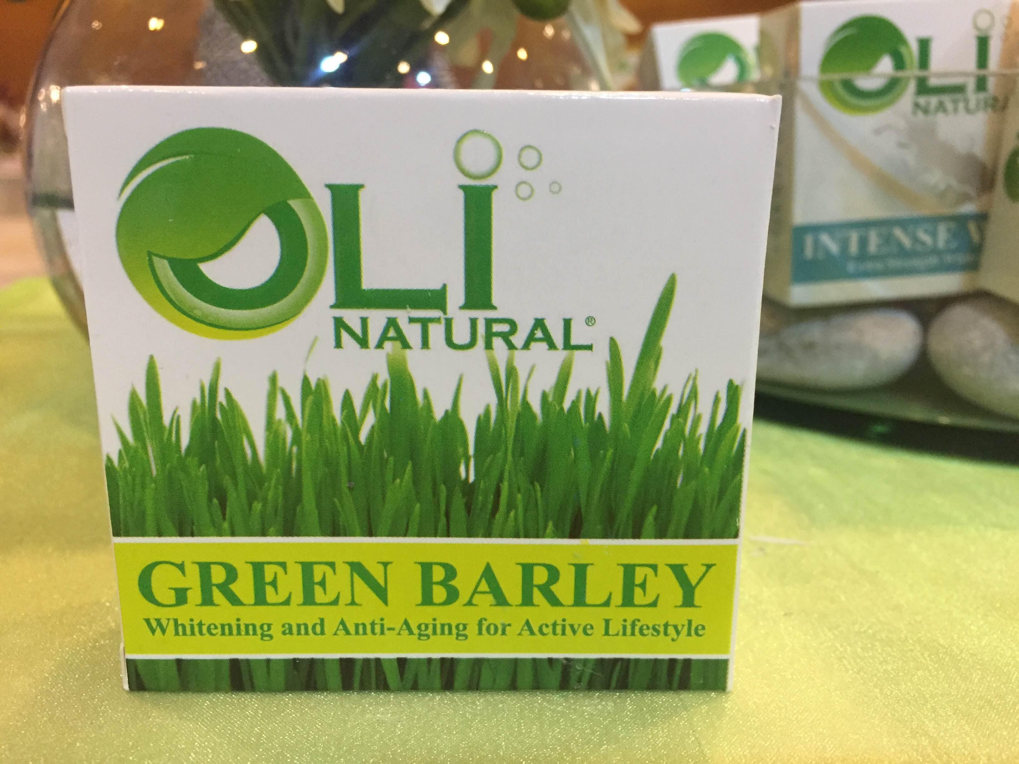 Oli Green Barley