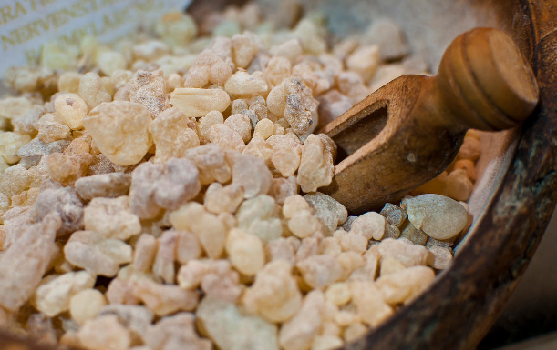 Frankincense - One of the most well regarded of the ancient incenses