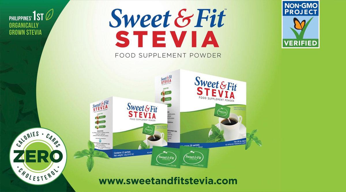 Sweet and Fit Stevia - Vigorbuddy