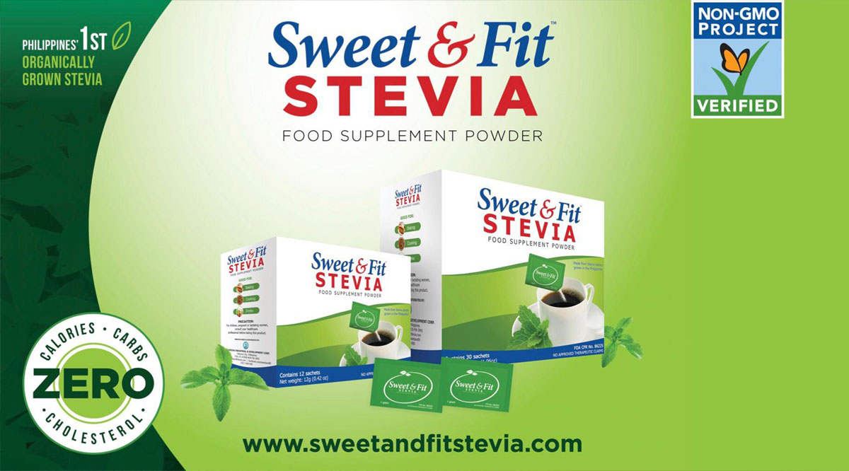 Sweet and Fit Stevia Healthiest Sweetener
